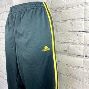 Adidas grey Capri workout pants size medium